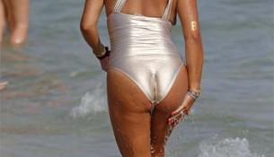 Famosas en bikini o bañador sin filtro