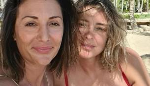 Nagore Robles y Sandra Barneda futurás mamás