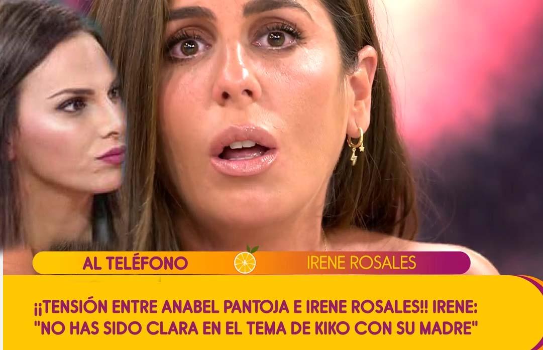 Irene Rosales ataca a Anabel Pantoja