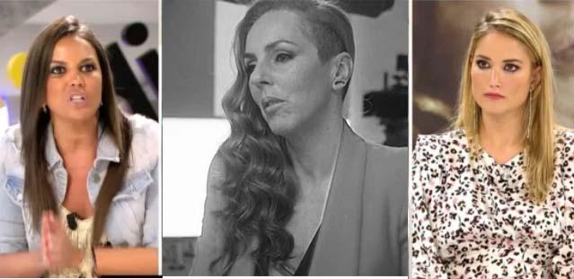 rocio-Enfrentamiento Alba Carrillo y Marta López por Rocío Carrasco