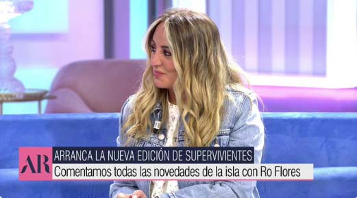 Rocío Flores trabaja en Ana Rosa