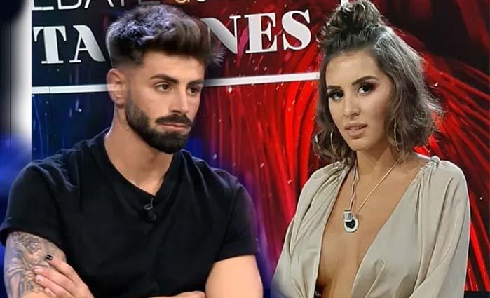 Isaac cara a cara  Marina y Lucía