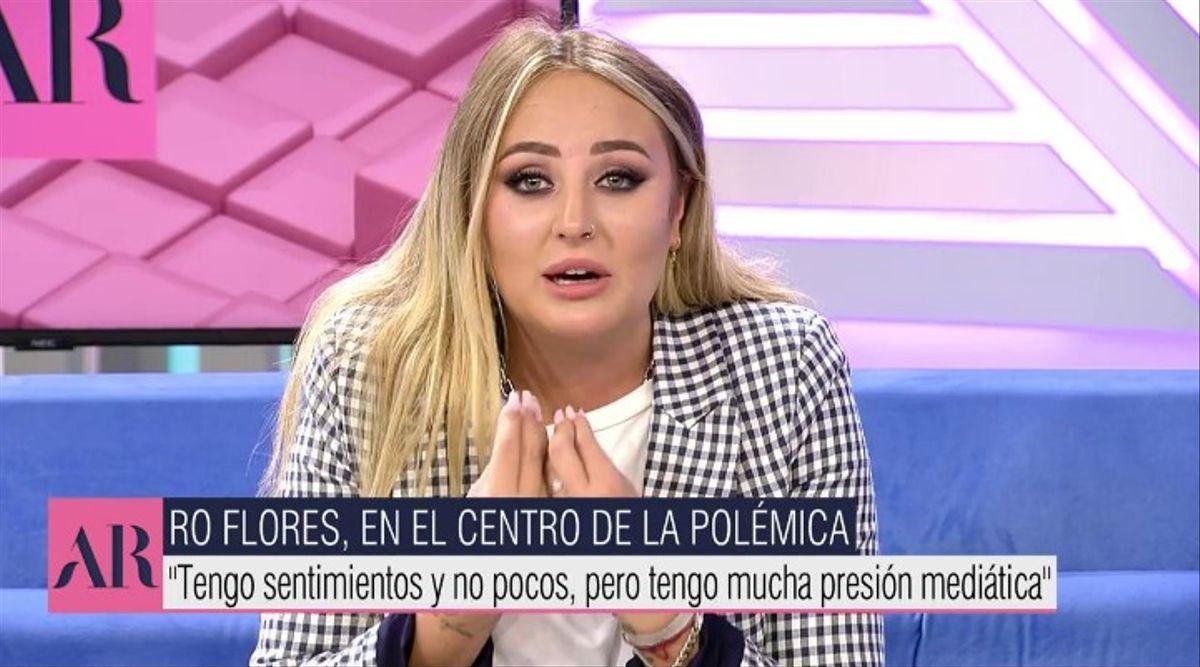 Rocío Flores habla sobre su madre en AR