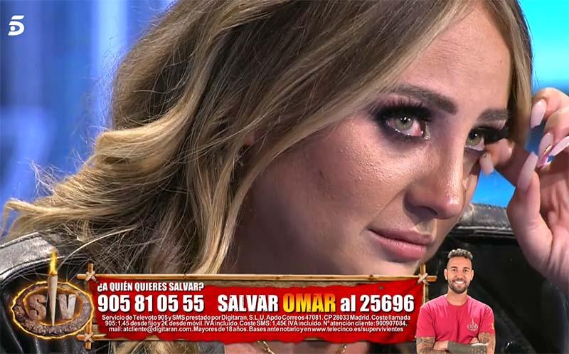 Rocío llora por Olga