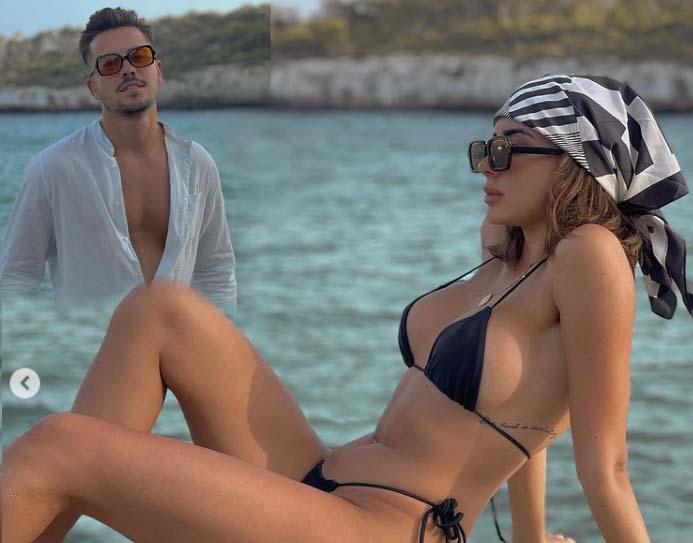 Marina y Jesús juntos en Mallorca