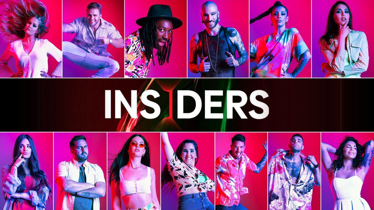 Concursantes Insiders Reality Netflix